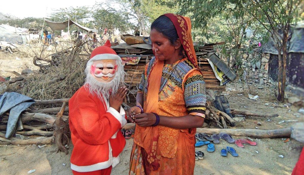 Women SHGs Celebrated Merry Christmas