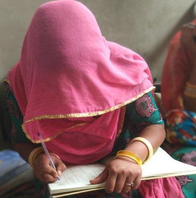 woman Written presence in SHGs meeting