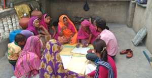 Women SHGs monthly Meeting