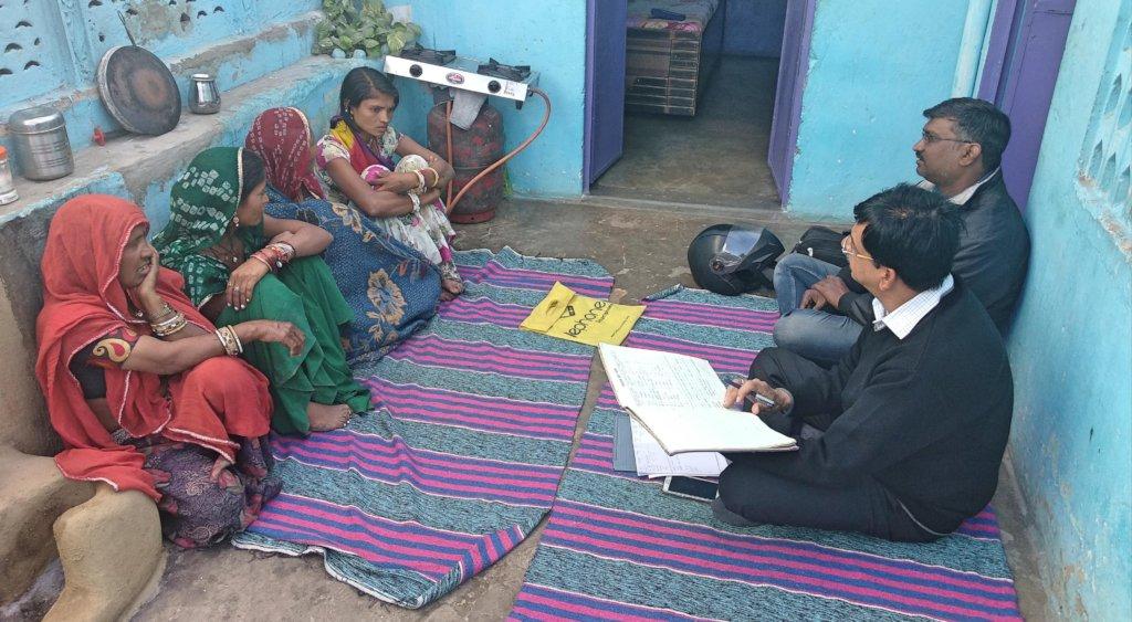 Govt. Officers visited Women SHGs