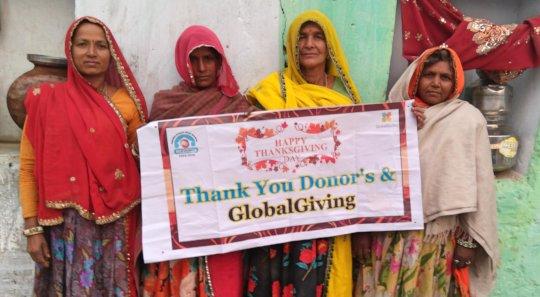 Women SHGs Says; Happy ThanksGiving Day!!
