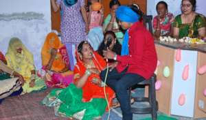 Role play on Stop female foeticide