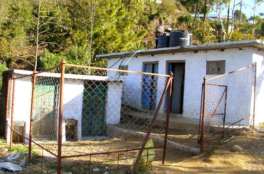 Refurbished Girls Friendly Toilet In School
