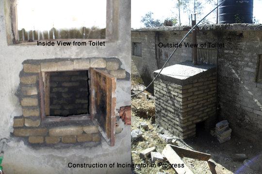 Incinerator Construction in Progress
