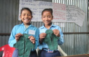 Supporting girl friendly toilets in remote schools