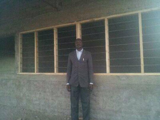 The area Chairman at Gordon Clem Academy
