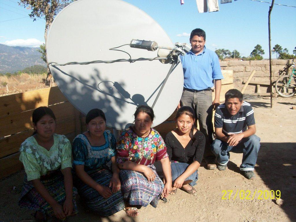 Satellite Internet Connection