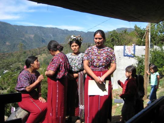 Ixil Mayan Women at Center Inauguration