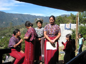 Ixil Mayan Women at Center Inauguration