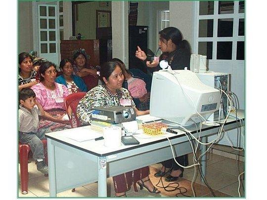 Women training women