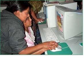 Mayan language e-learning materials