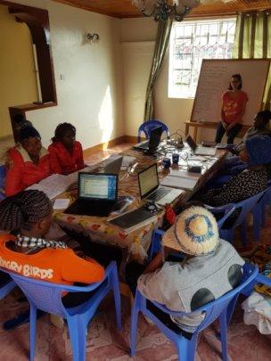 Social worker Laura's classroom