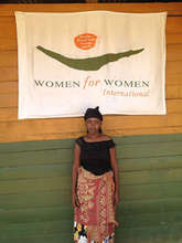 Josephine in front of the WfWI offices