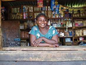 A women working at her store