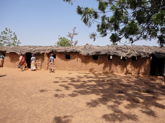 Koeneba primary school built by parents