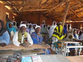 Koeneba parents discuss childrens' education