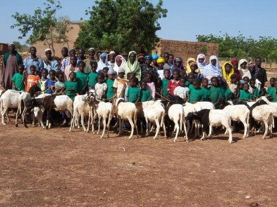 Lambs Support Village Girls' Education