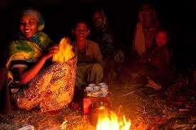 Schoolchildren have no electricity at night