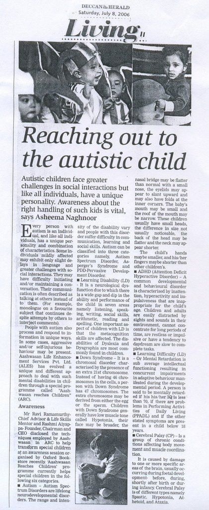 Life Transforming Services for Special Children