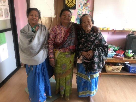 Carers getting together at Chhahari