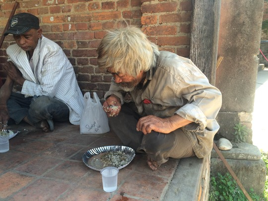 hot meals on the street