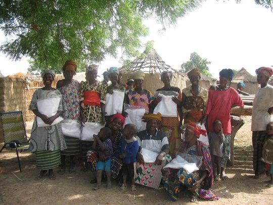 Mosquito Net Distribution