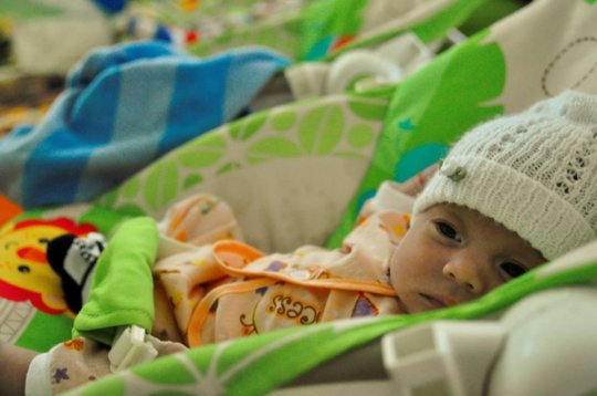 """Babies at our """"Casa Cuna""""receive early stimulation"""