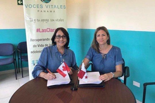 Alongside Anna Karine Asselin, Canadas Ambassador