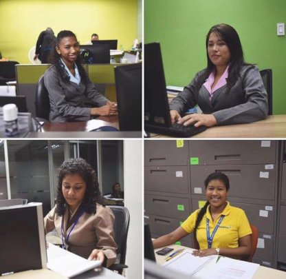 Our Students From Last Year, at their Internships