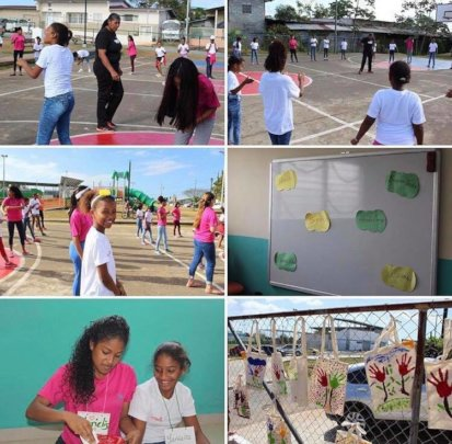 Veranito Las Claras, with our students as leaders
