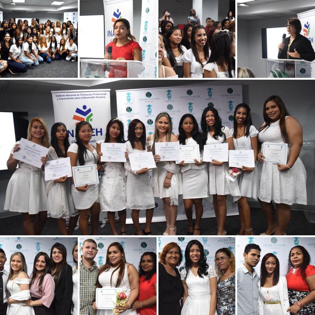 Graduation Ceremony for Third Class of Las Claras
