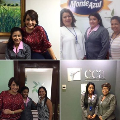 Las Claras Gain Work Experience as Interns