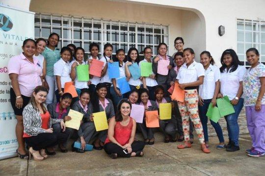 The Juan Felipe Gomez Foundation Visits Las Claras