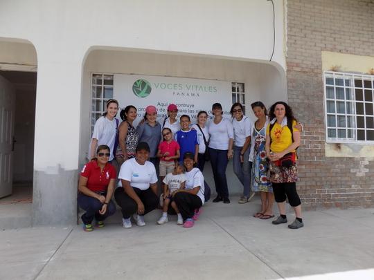 Las Claras Team and Volunteers