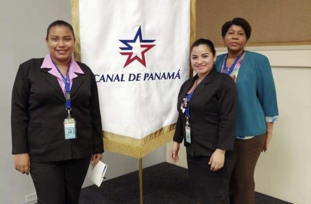 Two Students as Interns at Panama Canal
