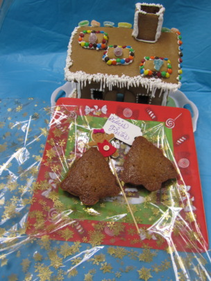 Gingerbread House and Cakes Made by Las Claras