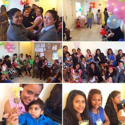 One year celebration at the Las Claras Center!