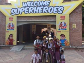 Superheroes of Britton English School