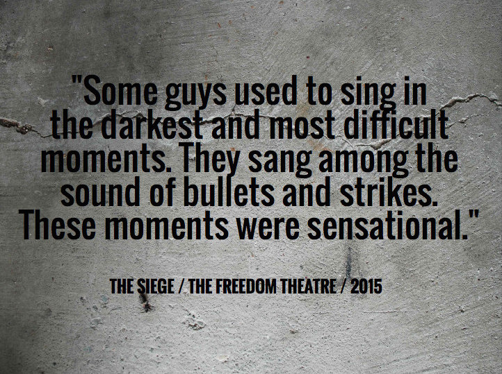 A quote from the play
