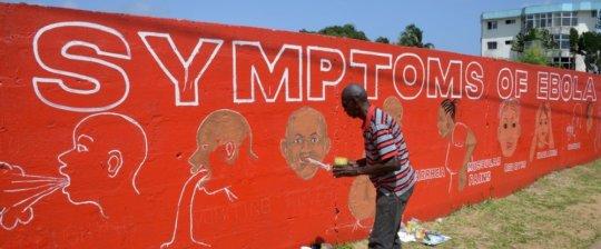 Ebola Mural