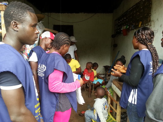 Fighting The Outbreak of Ebola in Liberia