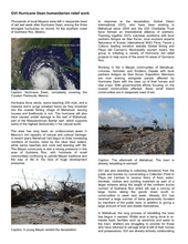 GVI report on Hurricane Dean