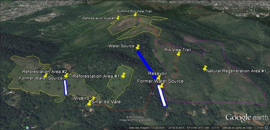 Reforestation map
