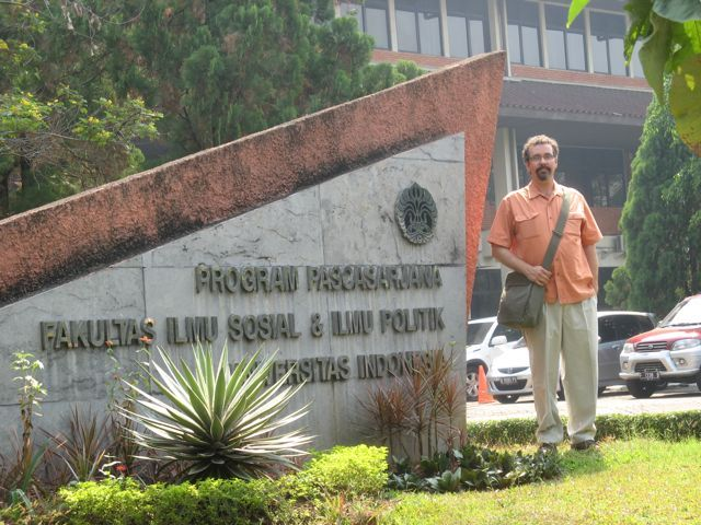Eric Jones at University of Indonesia