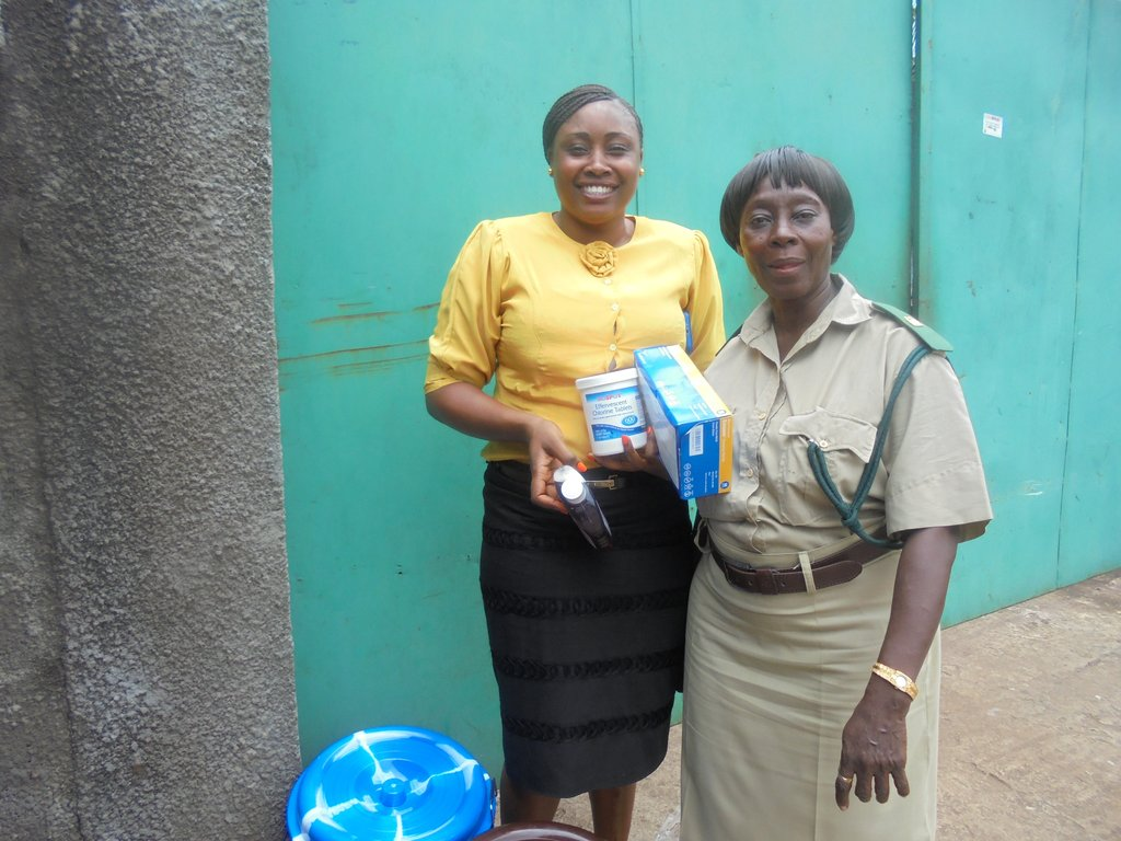 Ebola Prevention & Support for Women in Detention