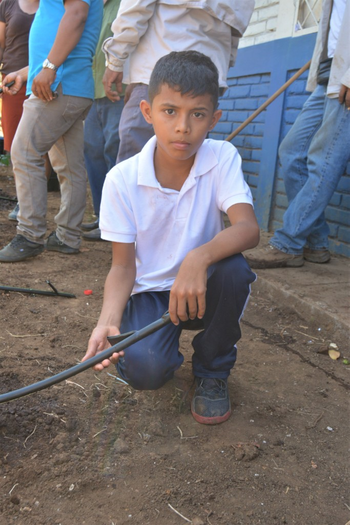 "Candelaria Elementary student ""Senor Lopez"""