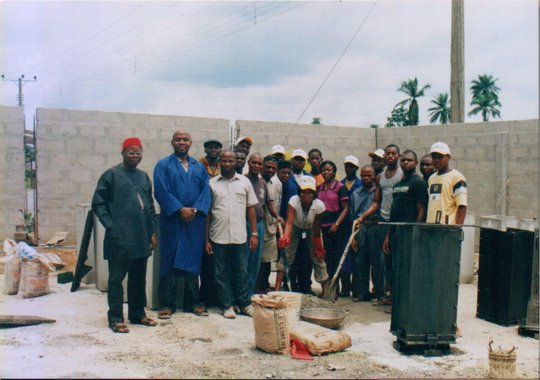 Group photo of project stakeholders