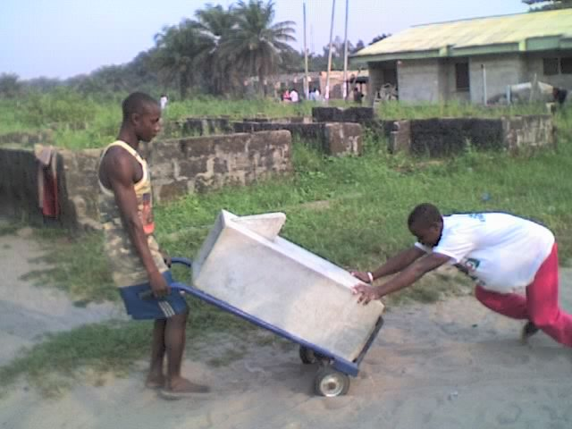 The desperation for safer drinking water ensures that local yout