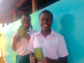 Yustina and Jesca, SEGA's study abroad students