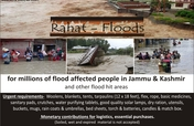 Support J&K & 6 other Indian states' flood victims